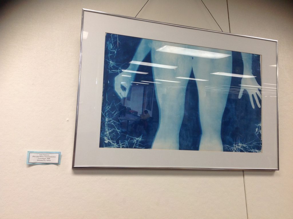 Blue and White Transformation.    Permanent collection at College of Mount St Vincent, Bronx, NY