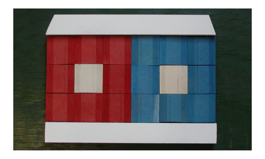 Red and Blue House